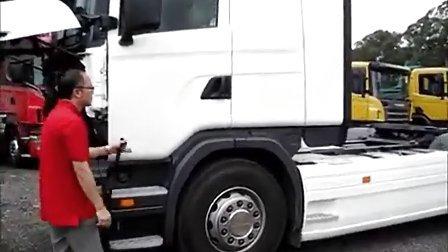 斯堪尼亚Scania-驾驶室升降教学(粤语版)