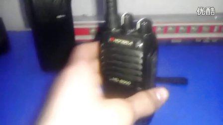 摩托罗拉对讲机gp88s  实拍摩托罗拉对讲机gp88s于国产对讲机对比