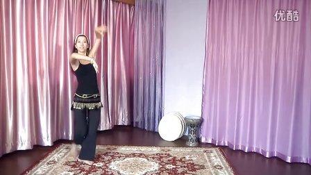 肚皮舞基础教学--初级成品舞教学分解动作1