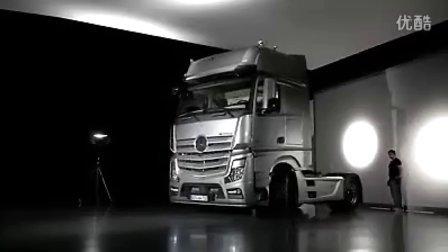 梅赛德斯 - 奔驰 2012Actros驾驶室介绍