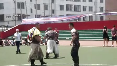 蒙古摔跤   斯日吉嘎娃 道布