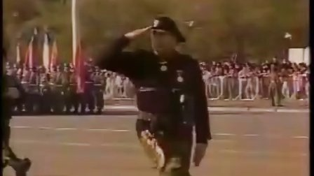 光荣的普鲁士——智利国军队的纯普鲁士血统的阅兵式