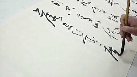 潮汕书家 揭阳市书协许集厚书法挥毫(深圳李志宏))