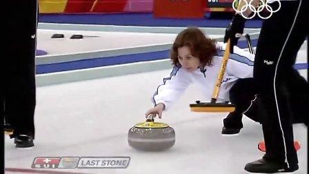 2006年冬奥会女子冰壶决赛剪辑 Ott--Norberg