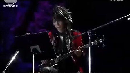 【叉子拌粉丝字幕组】X-JAPAN 无敌之夜 ROSE OF PAIN