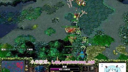 【Mirana解说】2500对黑,老鼠犀利LION遇上敌法师