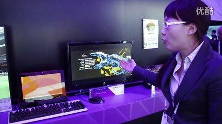 【AMDCES直击未来科技】超强平板工作站!Discovery Project系列之移动办公坞站
