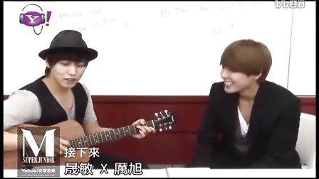 110610 SJ-M Yahoo!奇摩音樂特輯 PartIII 晟敏X厉旭_04