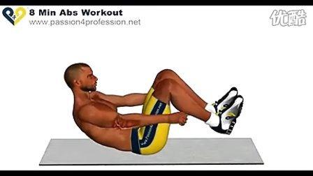 18分钟腹肌训练 标清