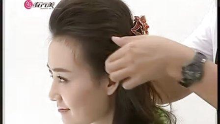 最新韩国流行新娘发型  美发视频  怎样盘发技术