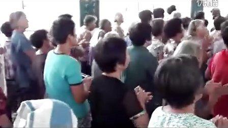 沛县基督教堂赞美团:小张寨教堂赞美会《点燃复兴的火焰》