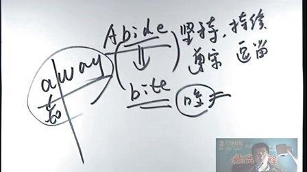 海文考研2013年英语基础班-词汇 04(李伟)