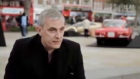 实拍伦敦街头兰博基尼经典车型露天展示
