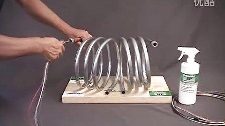 螺旋管穿线