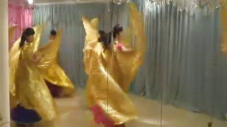 深圳詹美玲肚皮舞金翅舞培训 现场视频花絮