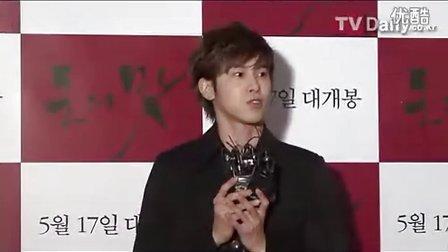20120514朴信惠出席電影《錢的味道》Vip试映会(TVDaily)