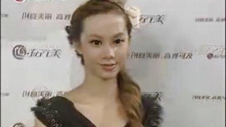 2012夏季最亮眼的时尚  盘发发型图片 甜美 ·青春洋溢的盘发发型