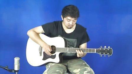 阿库拉 DU-813  情非得已 视频 教程 beyond灰色轨迹尾奏 SOLO 民谣吉他 木 吉它