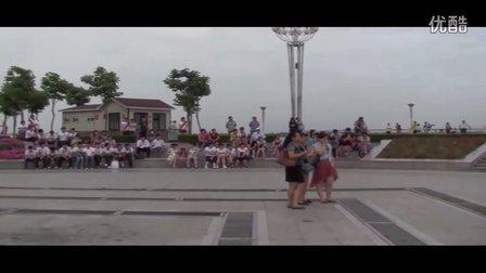 曙光职专2012年6月28日玫瑰广场文艺汇演拍摄花絮-1