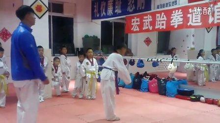 5月8日洪韬壹与师兄弟们的『汇演』练习三