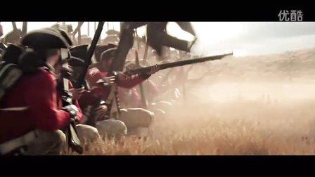 《刺客信条3》CG预告片