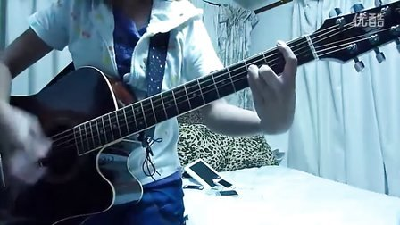 YUI cover No way guitar kasa8830