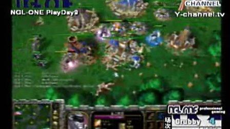 wcg2009   兽王grubby vs Deadman  交战激烈 暗夜和兽族的完美呈现