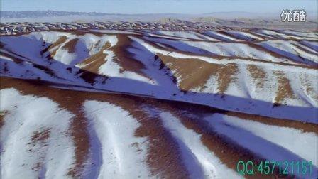 积雪覆盖的准格尔盆地·编码:JXZH155