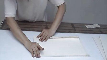 经阁拓片裱册页6段