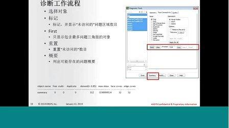 【培训视频】ANSYS15.0 Fluent网格划分解决方案
