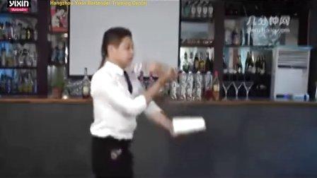 杭州义鑫调酒师培训学校花式调酒之瓶厅表演