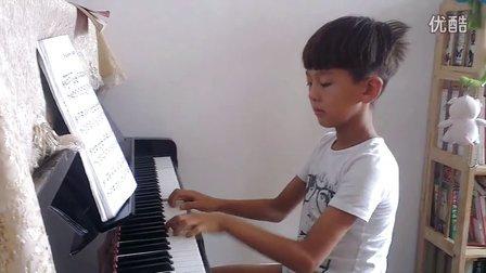 8月8日洪韬壹钢琴『洋娃娃和小熊跳舞』