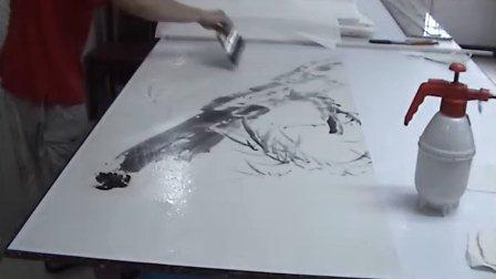 湿托四尺国画