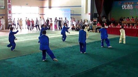 聊城洪武太极吴小杰创编的集体项目比赛视频