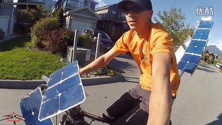 太阳能 - 电 - 自行车 - 骑 - 无 - 电池 - 电力 - 要求