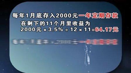 理财妙招 不同存款方式利息差6倍 20120522 首都经济报