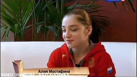 俄罗斯体操队备战2012年伦敦奥运会