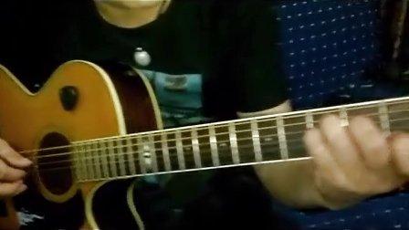 【隐形的翅膀】吉他弹唱 琴放吉他视频讲解