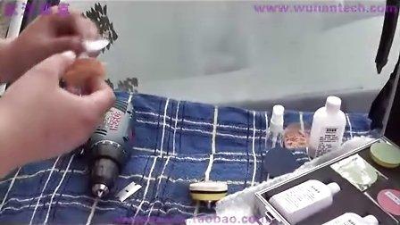 汽车玻璃划痕修复 汽车玻璃划痕修复教学 武汉泰克汽车玻璃修复