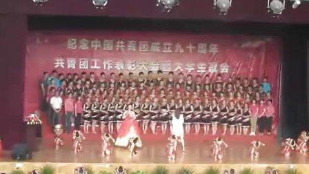 武汉纺织大学合唱第一名--会计学院