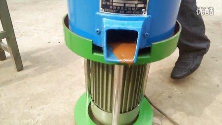 磨浆机、香油机操作过程,芝麻酱机、花生酱机、香油机