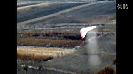 《新年贺岁飞行》内蒙古飞友飞行德国Perfex三角翼