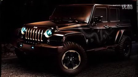 2012 Jeep Wrangler - Dragon Design Concept