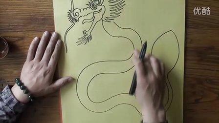 罗一鸣老师一笔画龙教授方法