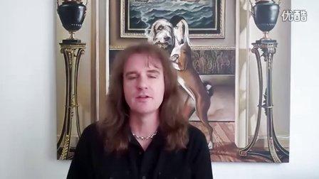 Megadeth 2012 亚洲巡演前 对歌迷问好