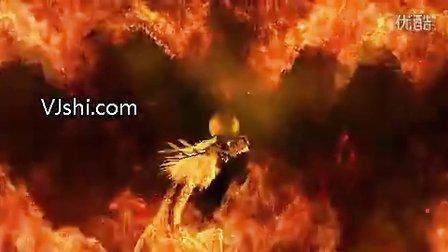 龙的传人led视频_led素材_vj素材_VJ师网