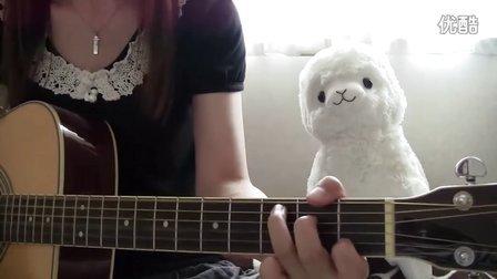 YUI cover HELP guitar chakotan85