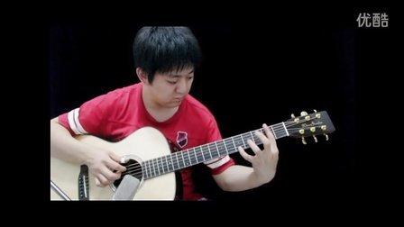 吉他指弹 Kiss