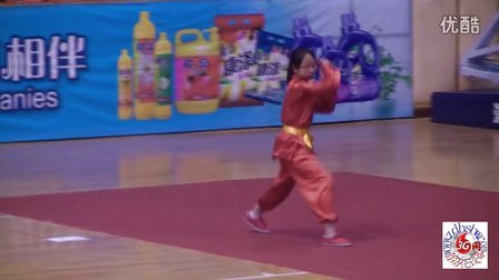刘梓莹太极扇表演
