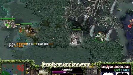 【Mirana解说】开局3V5,逆袭吧!超神暴走大熊猫!